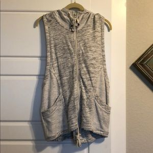 Muscle Tank Zip Up